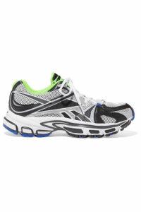 Vetements - + Reebok Runner 200 Rubber-trimmed Mesh Sneakers - Gray