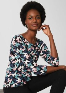 Elizabeth Blouse Red Multi