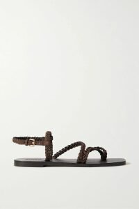 Palm Angels - Printed Cotton-terry Hoodie - Pastel pink