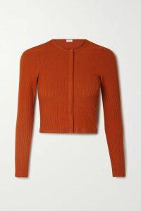 Akris - Alize Tulle-panelled Wool-blend Crepe Blazer - Black