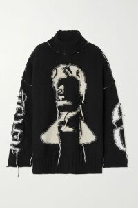 Dries Van Noten - Oversized Organza Top - Navy