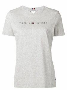 Tommy Hilfiger logo T-shirt - Grey