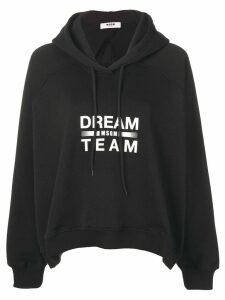 MSGM Dream hoodie - Black