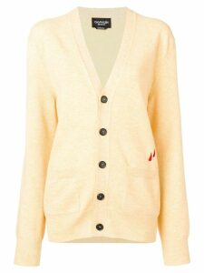 Calvin Klein 205W39nyc V-neck button cardigan - Yellow