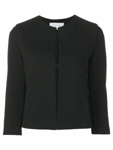 Harris Wharf London plain fitted jacket - Black