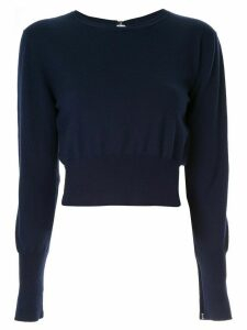 Dion Lee lingerie hook sweater - Blue