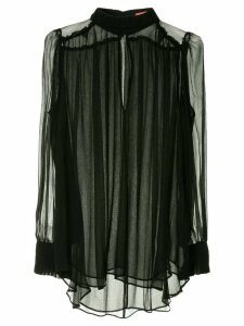 Manning Cartell feather weight blouse - Black