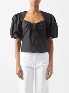 Rochas - Orial Silk Blouse - Womens - Ivory