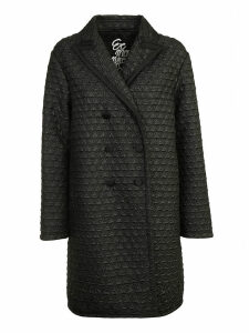Ermanno Scervino Quilted Double Breasted Coat