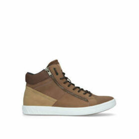 Aldo Peohtric Mid Top - Tan High Top Trainers