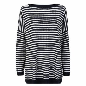 Boss Stripe Knitted Top