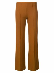Romeo Gigli Pre-Owned 2000's mid rise slim trousers - Brown