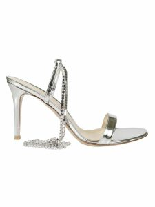 Gianvito Rossi Tennis Crystal Sandals