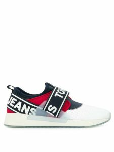 Tommy Jeans slip-on logo sneakers - White