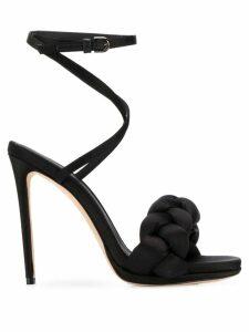 Marco De Vincenzo Treccia 110 sandals - Black