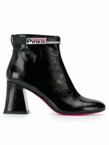 Pinko chunky heel ankle boots - Black