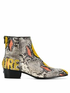 Zadig & Voltaire Sonlux Wild boots - Neutrals