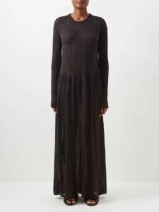 Calvin Klein - Brooch Detail Merino Wool-blend Sweater - Womens - Camel