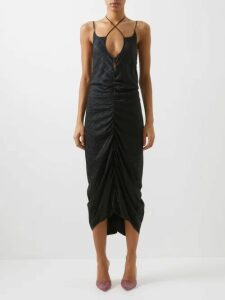 Prada - Round-neck Cashmere-blend Sweater - Womens - Black