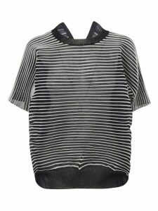 Junya Watanabe Pleated Oversized Sweater