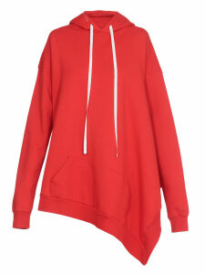 Ben Taverniti Unravel Project Terry Asymmetric Hoodie