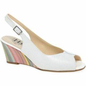 Hb  Shine III Womens Slingback Sandals  women's Sandals in White