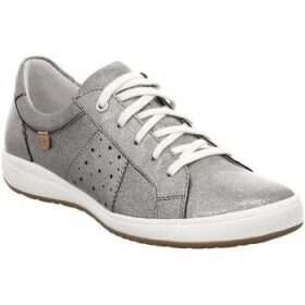 Josef Seibel  Caren 01 Womens Casual Trainers  women's Shoes (Trainers) in Silver