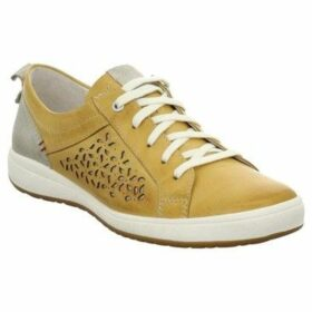 Josef Seibel  Caren 06 Womens Casual Trainers  women's Shoes (Trainers) in Yellow