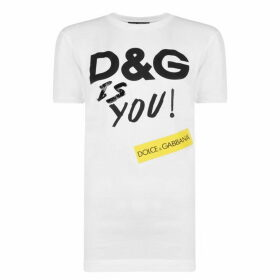 Dolce and Gabbana Is You T Shirt