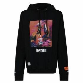 Heron Preston Raglan Hooded Sweatshirt