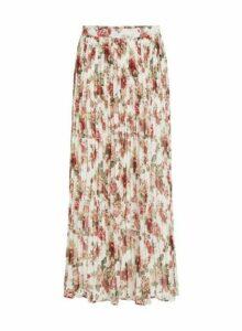 Womens Vila Multi Colour Printed Maxi Skirt, Multi Colour