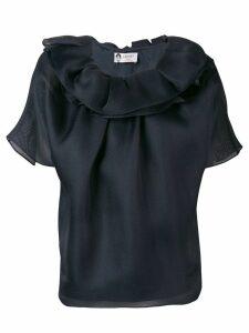 LANVIN ruffle blouse - Blue