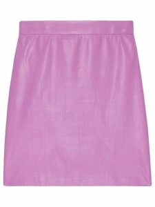 Gucci Leather mini skirt - Pink