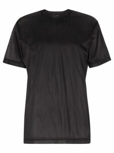 Eytys Smith Nylon T-Shirt - Black