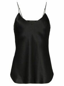 Nili Lotan sleeveless silk cami - Black