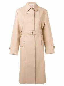 Stella McCartney belted trench coat - Neutrals