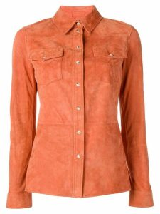 Desa 1972 chest pocket fitted shirt - ORANGE
