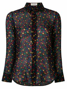 Saint Laurent stars print shirt - Black