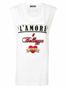 Dolce & Gabbana 'L'Amore' T-shirt - White