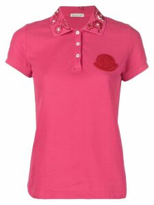 Moncler polo shirt - PINK