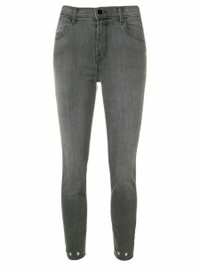 J Brand Alana cropped jeans - Grey
