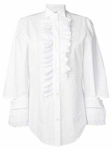 Loewe ruffle shirt - White