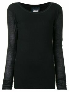 Kristensen Du Nord scoop neck sweater - Black