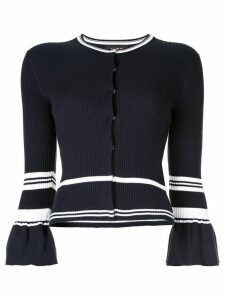 Paule Ka flared sleeve cardigan - Blue