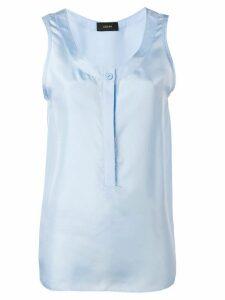 Joseph scoop neck vest top - Blue