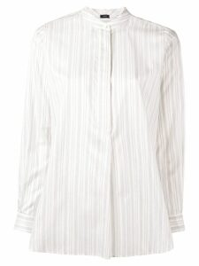 Joseph striped tunic blouse - White