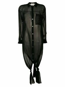 Forte Forte black long shirt