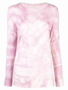 Stella McCartney tie-dye jumper - PURPLE