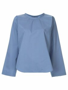 Sofie D'hoore long-sleeve flared blouse - Blue