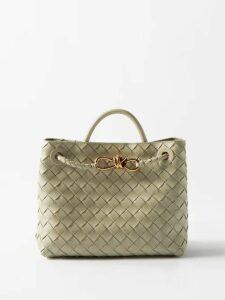 Tibi - Gauze-overlay Wool-blend Midi Skirt - Womens - Black